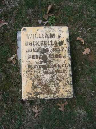 ROCKFELLOW (CW), WILLIAM G. - Northampton County, Pennsylvania   WILLIAM G. ROCKFELLOW (CW) - Pennsylvania Gravestone Photos