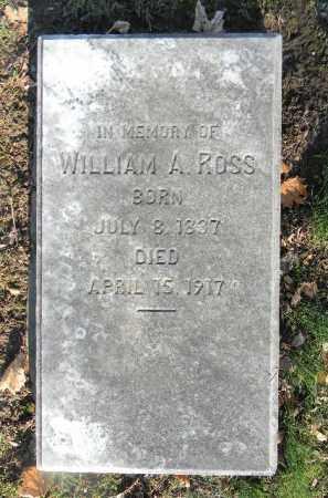 ROSS, WILLIAM A. - Northampton County, Pennsylvania | WILLIAM A. ROSS - Pennsylvania Gravestone Photos