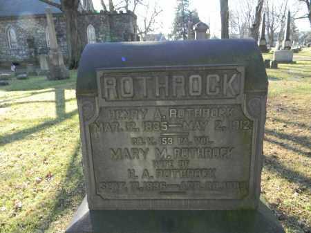 ROTHROCK (CW), HENRY A. - Northampton County, Pennsylvania | HENRY A. ROTHROCK (CW) - Pennsylvania Gravestone Photos