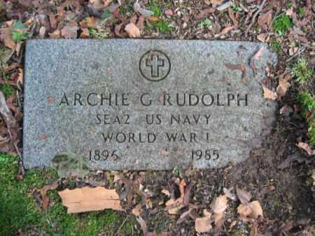 RUDOLPH, ARCHIE G. - Northampton County, Pennsylvania | ARCHIE G. RUDOLPH - Pennsylvania Gravestone Photos