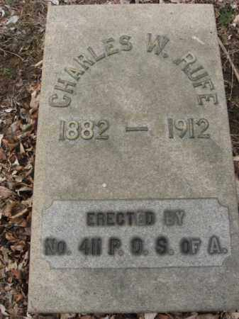 RUFE, CHARLES W. - Northampton County, Pennsylvania | CHARLES W. RUFE - Pennsylvania Gravestone Photos