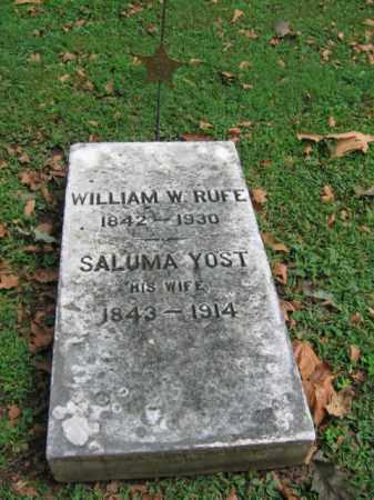 RUFE, WILLIAM W. - Northampton County, Pennsylvania | WILLIAM W. RUFE - Pennsylvania Gravestone Photos