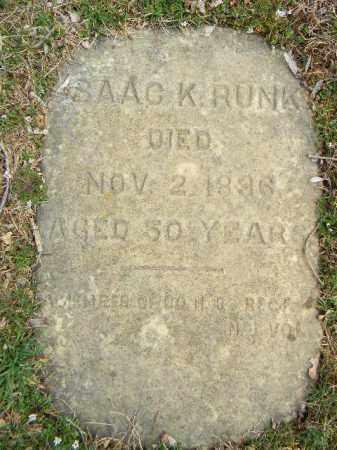 RUNK (CW), ISAAC K. - Northampton County, Pennsylvania | ISAAC K. RUNK (CW) - Pennsylvania Gravestone Photos
