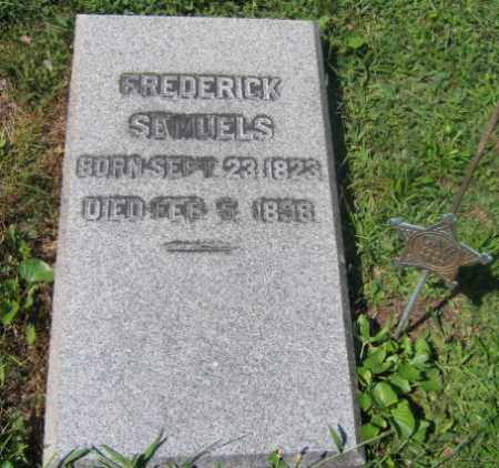 SAMUELS, FREDERICK - Northampton County, Pennsylvania | FREDERICK SAMUELS - Pennsylvania Gravestone Photos