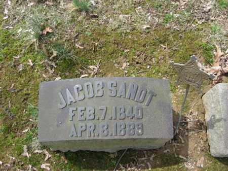 SANDT (CW), JACOB - Northampton County, Pennsylvania | JACOB SANDT (CW) - Pennsylvania Gravestone Photos