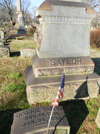 SAYLOR, GEORGE - Northampton County, Pennsylvania | GEORGE SAYLOR - Pennsylvania Gravestone Photos