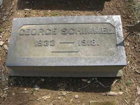 SCHIMMEL, GEORGE - Northampton County, Pennsylvania | GEORGE SCHIMMEL - Pennsylvania Gravestone Photos