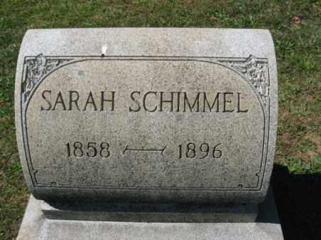 SCHIMMEL, SARAH - Northampton County, Pennsylvania   SARAH SCHIMMEL - Pennsylvania Gravestone Photos