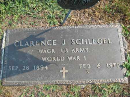 SCHLEGEL, CLARENCE J. - Northampton County, Pennsylvania | CLARENCE J. SCHLEGEL - Pennsylvania Gravestone Photos