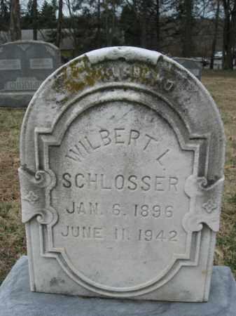 SCHLOSSER, WILBERT L. - Northampton County, Pennsylvania | WILBERT L. SCHLOSSER - Pennsylvania Gravestone Photos