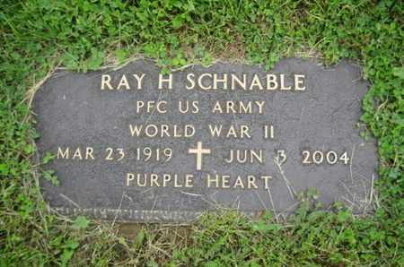SCHNABLE ( WW II), RAY H. - Northampton County, Pennsylvania | RAY H. SCHNABLE ( WW II) - Pennsylvania Gravestone Photos