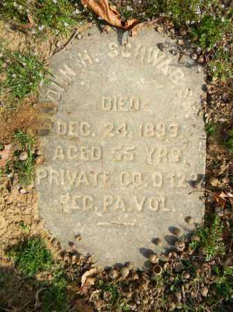 SCHWAB (CW), JOHN H. - Northampton County, Pennsylvania | JOHN H. SCHWAB (CW) - Pennsylvania Gravestone Photos