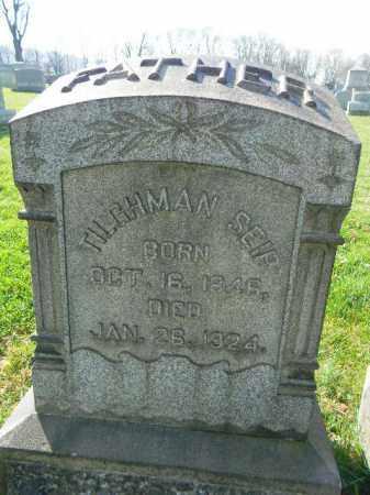 SEIP, TILGHMAN - Northampton County, Pennsylvania   TILGHMAN SEIP - Pennsylvania Gravestone Photos