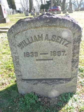 SEITZ, WILLIAM A. - Northampton County, Pennsylvania   WILLIAM A. SEITZ - Pennsylvania Gravestone Photos