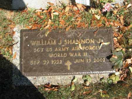 SHANNON,JR., WILLIAM J. - Northampton County, Pennsylvania | WILLIAM J. SHANNON,JR. - Pennsylvania Gravestone Photos