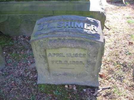 SHIMER, S.L. - Northampton County, Pennsylvania | S.L. SHIMER - Pennsylvania Gravestone Photos