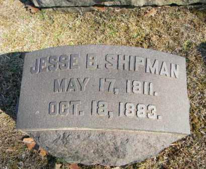 SHIPMAN, JESSE B. - Northampton County, Pennsylvania | JESSE B. SHIPMAN - Pennsylvania Gravestone Photos
