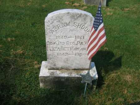 SHOOK, ELIZABETH - Northampton County, Pennsylvania   ELIZABETH SHOOK - Pennsylvania Gravestone Photos