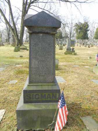 SIGMAN (CW), FRANCIS - Northampton County, Pennsylvania | FRANCIS SIGMAN (CW) - Pennsylvania Gravestone Photos