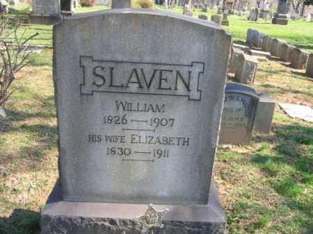 SLAVEN, ELIZABETH - Northampton County, Pennsylvania | ELIZABETH SLAVEN - Pennsylvania Gravestone Photos