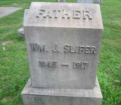 SLIFER, WILLIAM J. - Northampton County, Pennsylvania | WILLIAM J. SLIFER - Pennsylvania Gravestone Photos