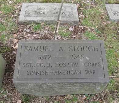 SLOUGH (SAW), SAMUEL A. - Northampton County, Pennsylvania   SAMUEL A. SLOUGH (SAW) - Pennsylvania Gravestone Photos