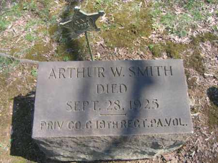 SMITH, ARTHUS W. - Northampton County, Pennsylvania | ARTHUS W. SMITH - Pennsylvania Gravestone Photos