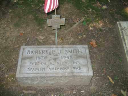 SMITH, ROBERT D.J. - Northampton County, Pennsylvania   ROBERT D.J. SMITH - Pennsylvania Gravestone Photos