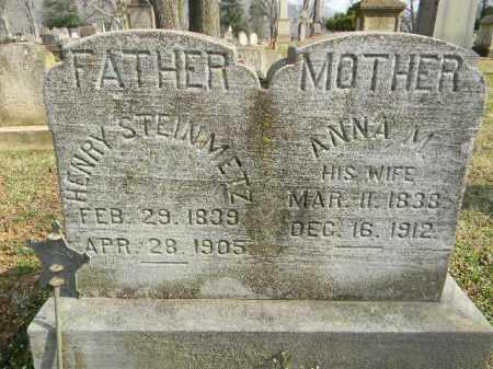 STEINMETZ, ANNA M. - Northampton County, Pennsylvania | ANNA M. STEINMETZ - Pennsylvania Gravestone Photos
