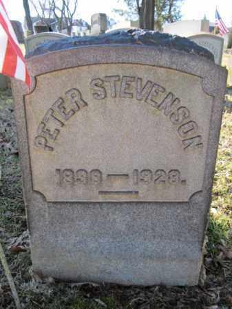STEVENSON, PETER - Northampton County, Pennsylvania | PETER STEVENSON - Pennsylvania Gravestone Photos