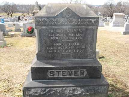 STEVER (CW), 1ST.LT. REUBEN - Northampton County, Pennsylvania   1ST.LT. REUBEN STEVER (CW) - Pennsylvania Gravestone Photos