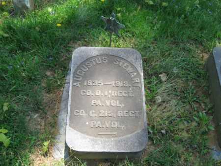 STEWART, AUGUSTUS - Northampton County, Pennsylvania   AUGUSTUS STEWART - Pennsylvania Gravestone Photos