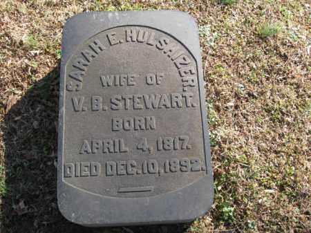 STEWART, SARAH E. - Northampton County, Pennsylvania | SARAH E. STEWART - Pennsylvania Gravestone Photos
