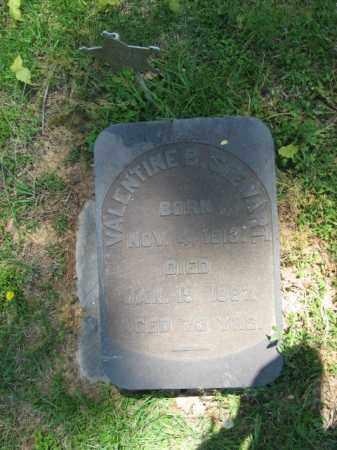 STEWART, VALENTINE - Northampton County, Pennsylvania   VALENTINE STEWART - Pennsylvania Gravestone Photos