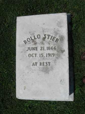 STIER, ROLLO - Northampton County, Pennsylvania | ROLLO STIER - Pennsylvania Gravestone Photos