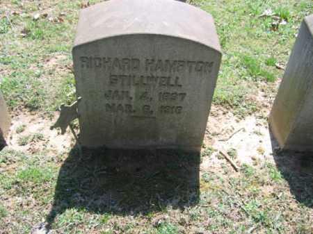 STILLWELL, RICHARD HAMPTON - Northampton County, Pennsylvania | RICHARD HAMPTON STILLWELL - Pennsylvania Gravestone Photos