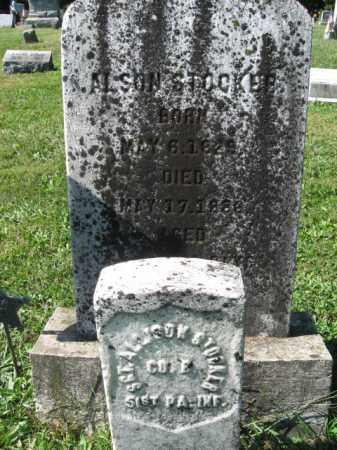 STOCKER (CW), SGT.ALLISON - Northampton County, Pennsylvania | SGT.ALLISON STOCKER (CW) - Pennsylvania Gravestone Photos