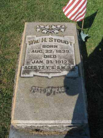 STOUDT (CW), WILLIAM  H. - Northampton County, Pennsylvania | WILLIAM  H. STOUDT (CW) - Pennsylvania Gravestone Photos