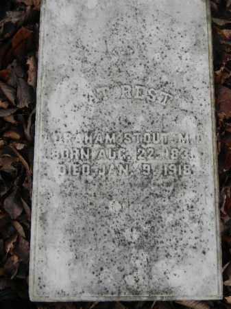STOUT (CW), ABRAHAM - Northampton County, Pennsylvania | ABRAHAM STOUT (CW) - Pennsylvania Gravestone Photos