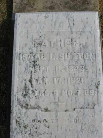 SUTTON (CW), ISAAC L. - Northampton County, Pennsylvania   ISAAC L. SUTTON (CW) - Pennsylvania Gravestone Photos