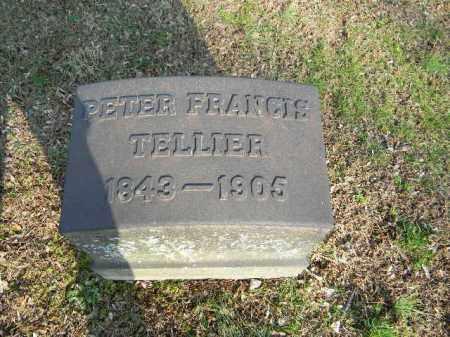 TELLIER, PETER FRANCIS - Northampton County, Pennsylvania   PETER FRANCIS TELLIER - Pennsylvania Gravestone Photos