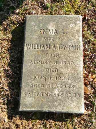 TEMPLIN, EMMA L. - Northampton County, Pennsylvania | EMMA L. TEMPLIN - Pennsylvania Gravestone Photos