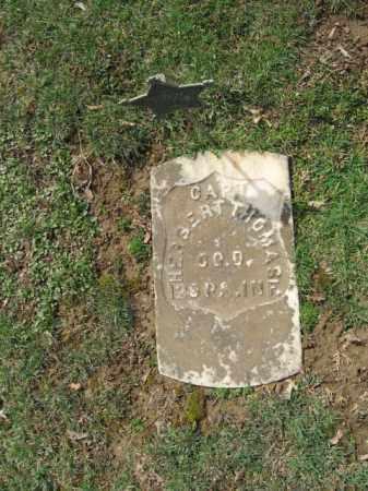 THOMAS, CAPTAIN HERBERT - Northampton County, Pennsylvania | CAPTAIN HERBERT THOMAS - Pennsylvania Gravestone Photos