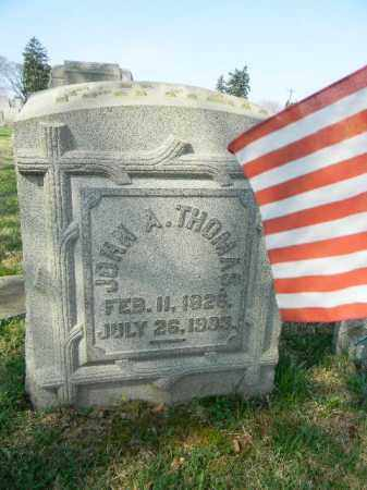 THOMAS, JOHN A. - Northampton County, Pennsylvania | JOHN A. THOMAS - Pennsylvania Gravestone Photos
