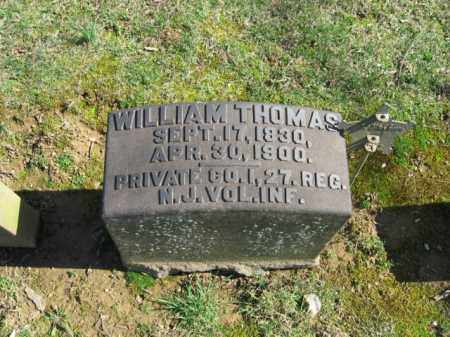 THOMAS, PVT. WILLIAM - Northampton County, Pennsylvania | PVT. WILLIAM THOMAS - Pennsylvania Gravestone Photos