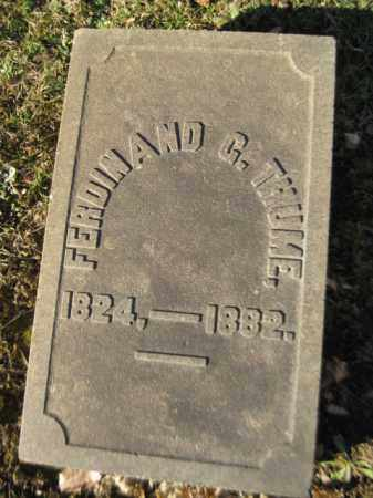 THUME, FERDINAND G. - Northampton County, Pennsylvania | FERDINAND G. THUME - Pennsylvania Gravestone Photos