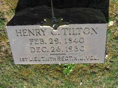 TILTON (CW), LT. HENRY C. - Northampton County, Pennsylvania | LT. HENRY C. TILTON (CW) - Pennsylvania Gravestone Photos