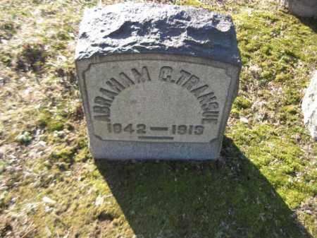 TRANSUE, ABRAHAM C. - Northampton County, Pennsylvania   ABRAHAM C. TRANSUE - Pennsylvania Gravestone Photos