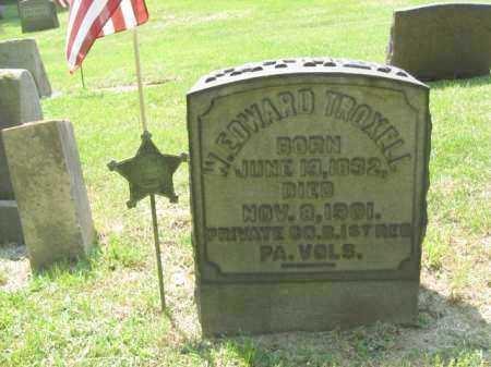 TROXELL, W.EDWARD - Northampton County, Pennsylvania | W.EDWARD TROXELL - Pennsylvania Gravestone Photos