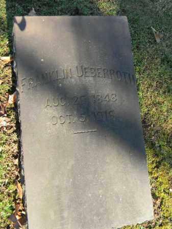 UEBERROTH, FRANKLIN - Northampton County, Pennsylvania | FRANKLIN UEBERROTH - Pennsylvania Gravestone Photos